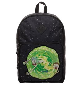 Bioworld Rick and Morty Portal backpack