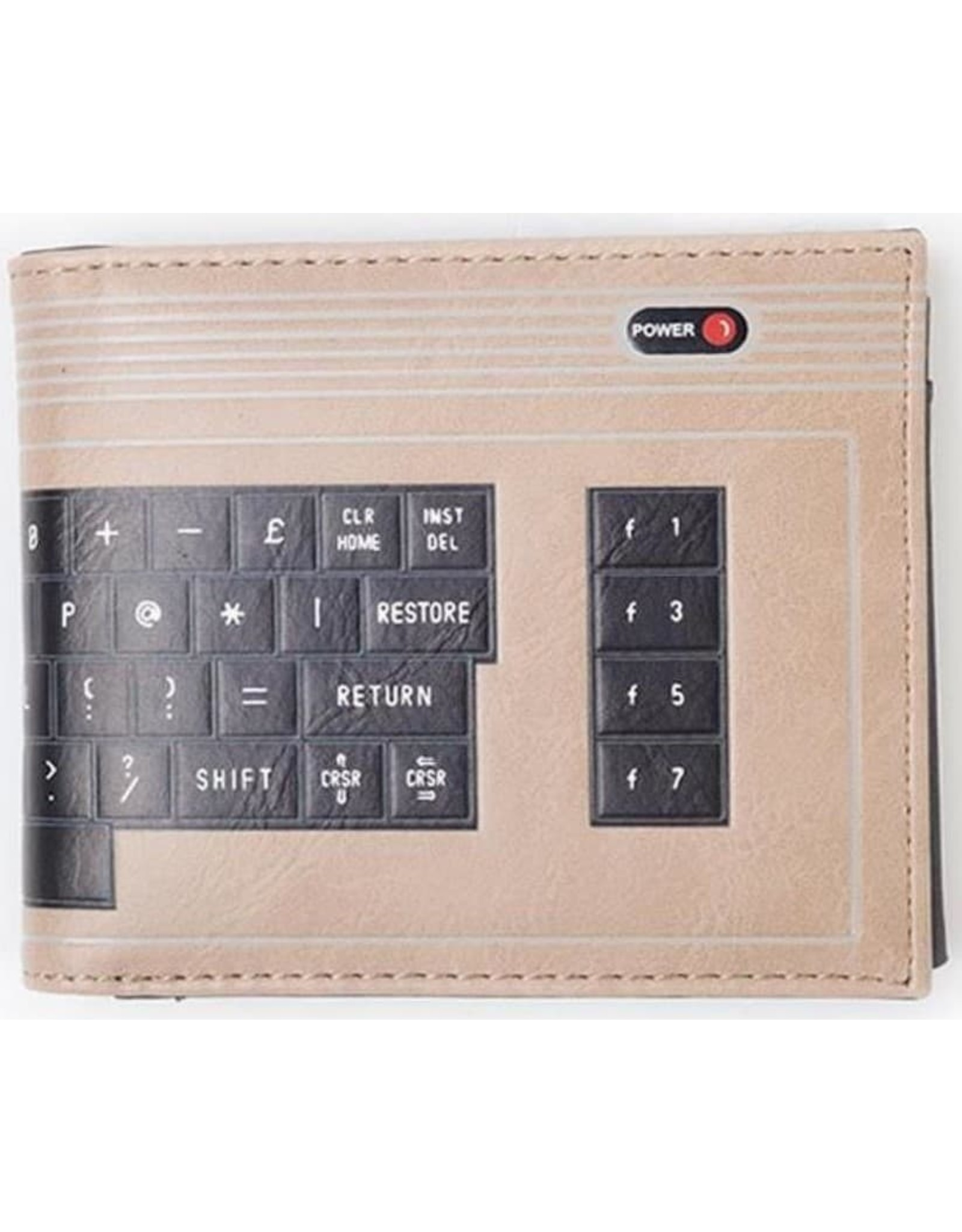 Commodore64 Merchandise portemonnees - Commodore 64 keyboard portemonnee