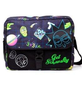Rick and Morty Rick and Morty Space messenger bag
