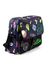 Rick and Morty Merchandise tassen - Rick and Morty Space messenger tas