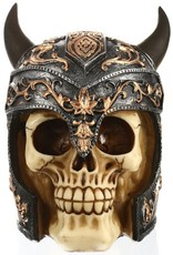 Gothic accessoires - Schedel Viking Groot