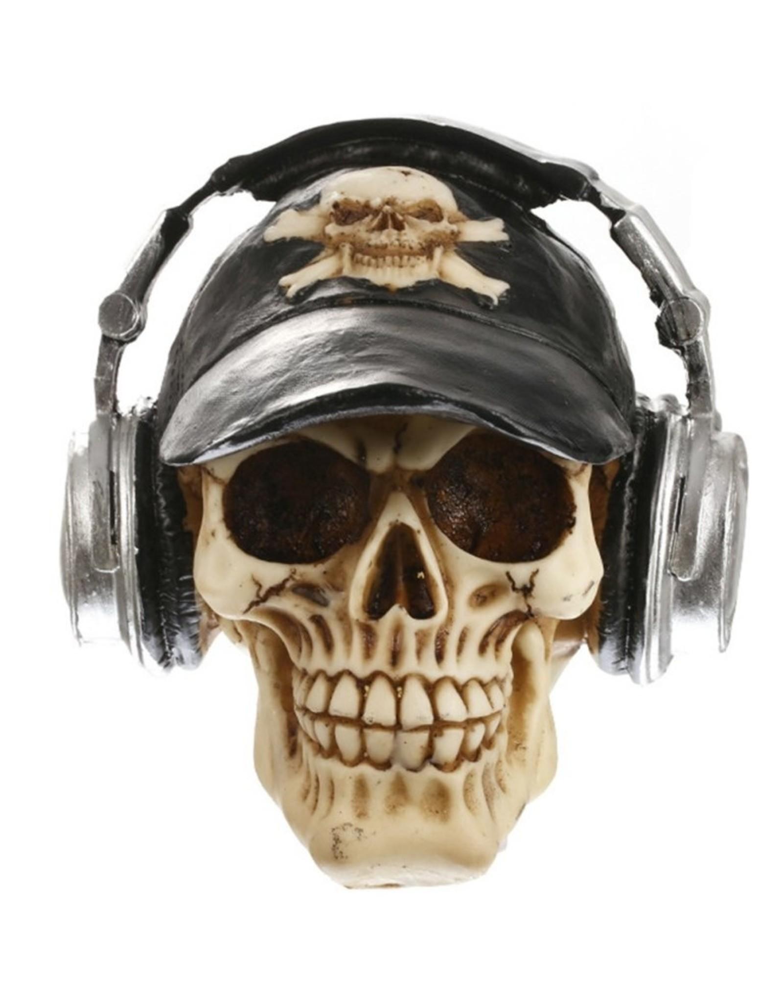 Gothic accessoires - Skull met koptelefoon