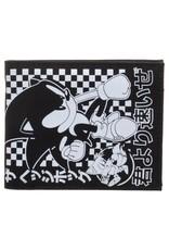 Bioworld Merchandise wallets - Sonic The Hedgehog BiFold Wallet Black & White