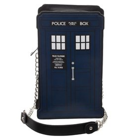 Bioworld Doctor Who Tijdmachine Schoudertas ( TARDIS )