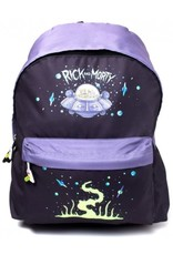 Rick and Morty Merchandise tassen - Rick and Morty Placement Printed rugzak
