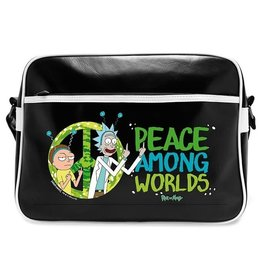 Rick and Morty Rick and Morty Peace messenger bag