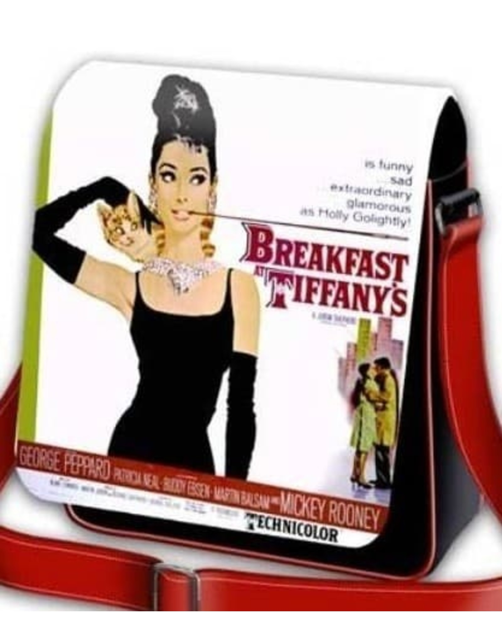 Merchandise tassen - Schoudertas Breakfast at Tiffany's