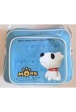 Monk Little Dog Merchandise tassen - Little Dog Monk schoudertas