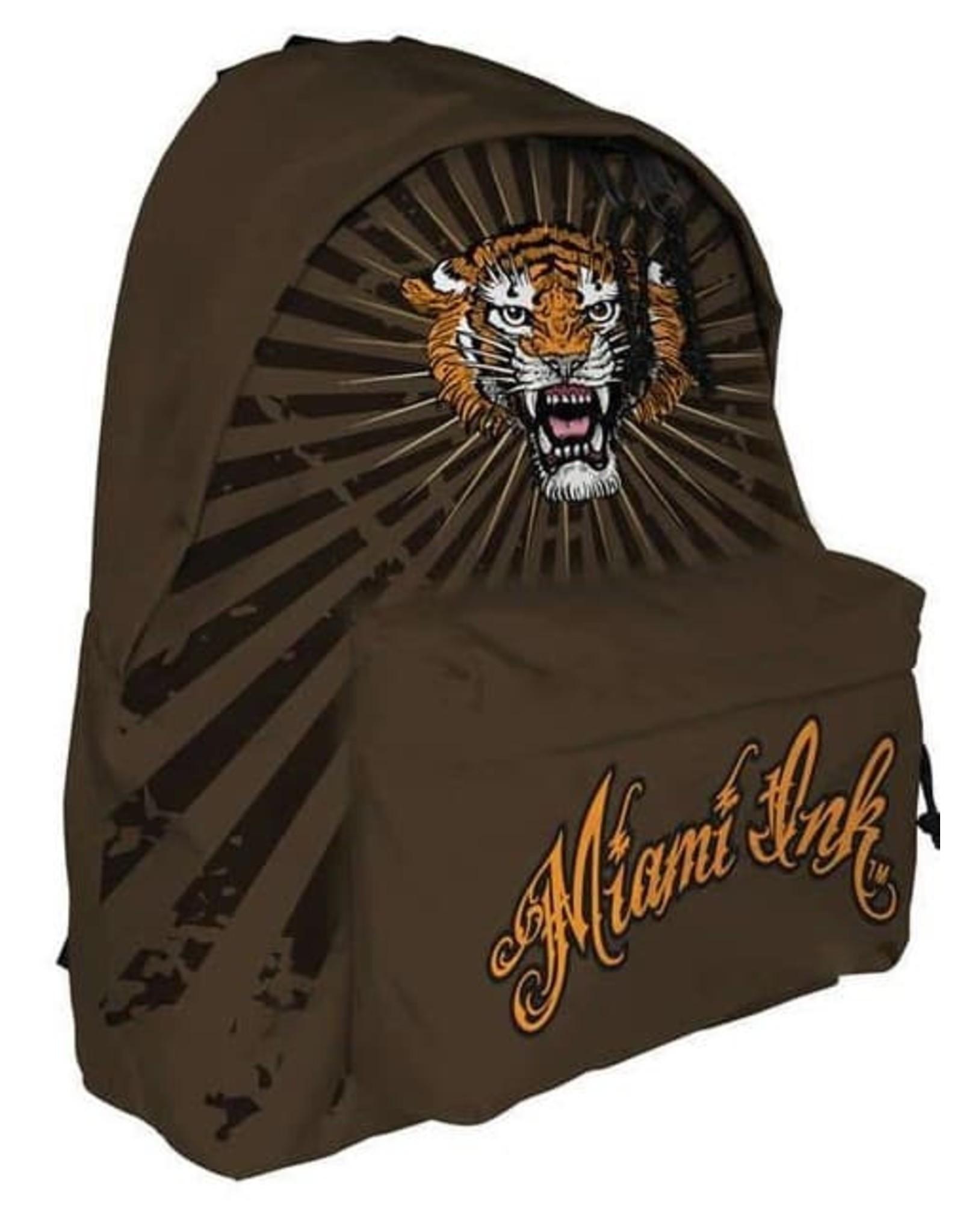 Miami Ink Merchandise tassen - Miami Ink Golden Tiger Rugzak