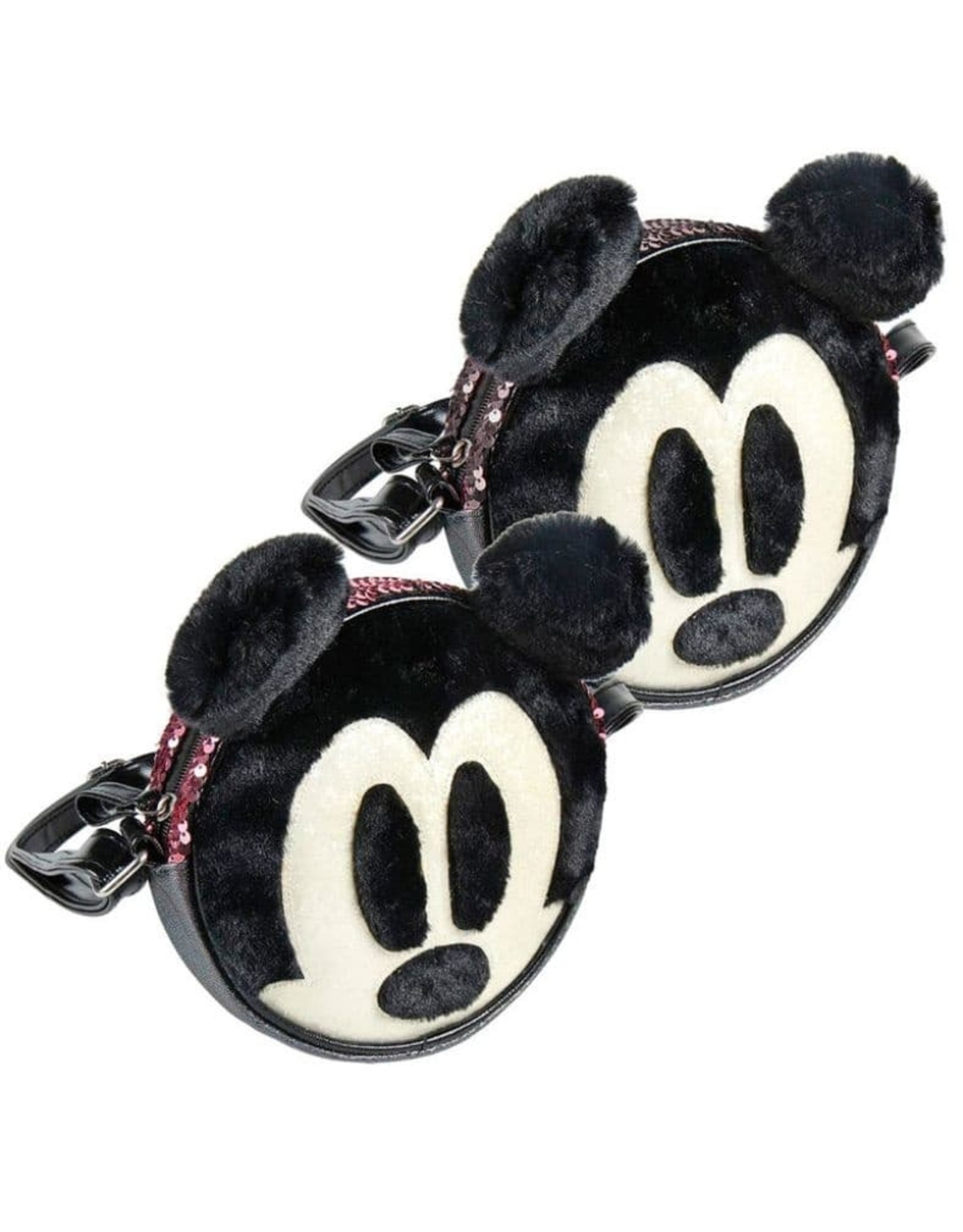Disney Disney bags - Disney round shoulder bag Mickey with plush and sequins