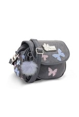 Disney Disney tassen - Disney schoudertas Minnie Mouse blauw-grijs