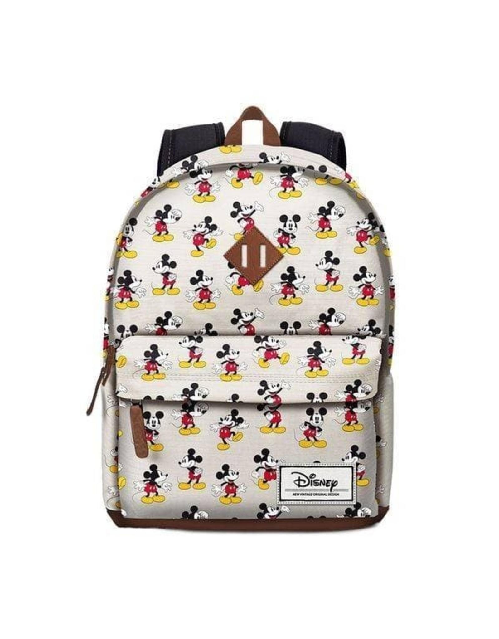 Disney Disney tassen - Disney rugzak Mickey Mouse vintage beige