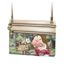 Disney Disney little shoulder bag Grumpy Have a nice day