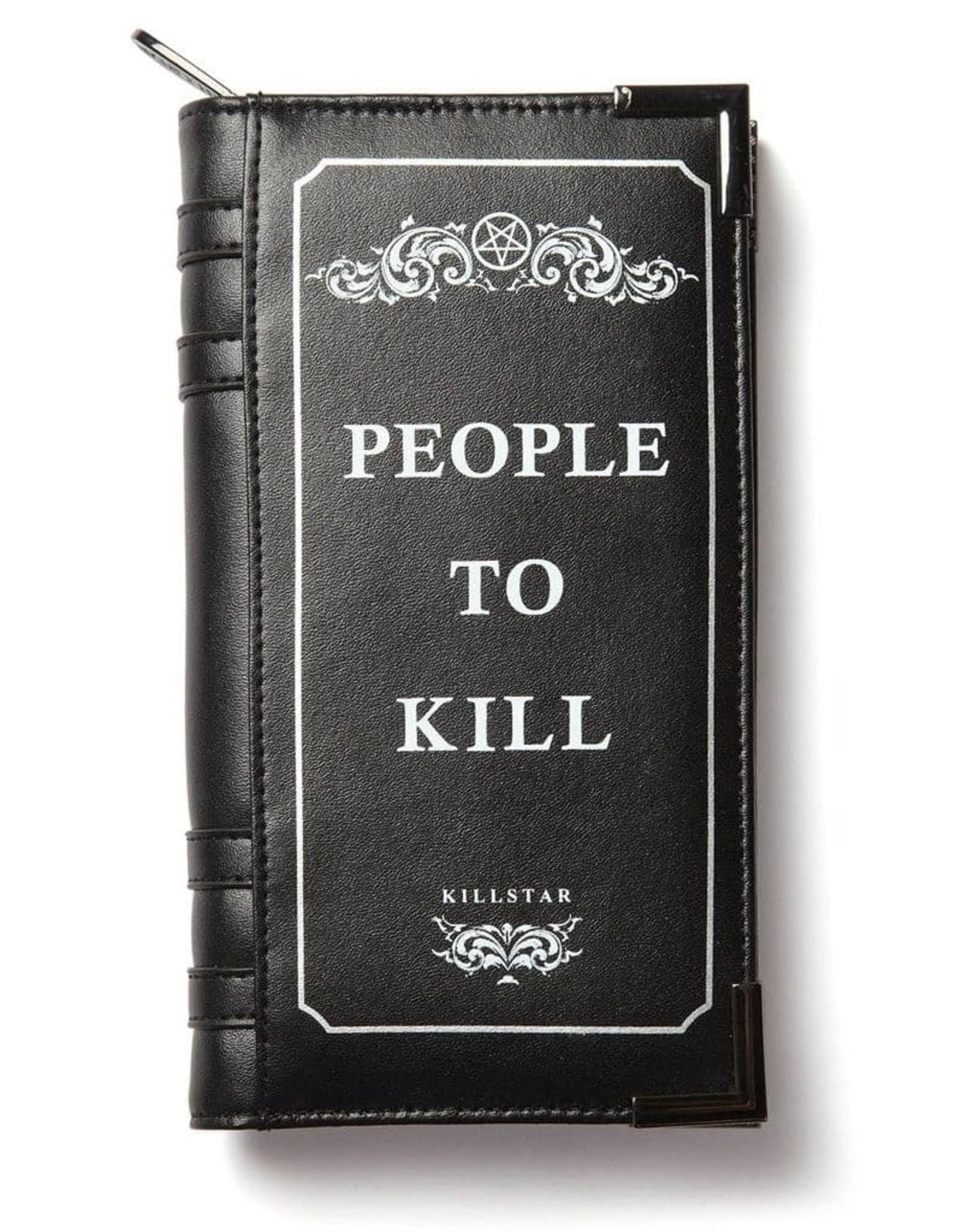 Killstar Gothic portemonnees - Killstar portemonnee People to Kill