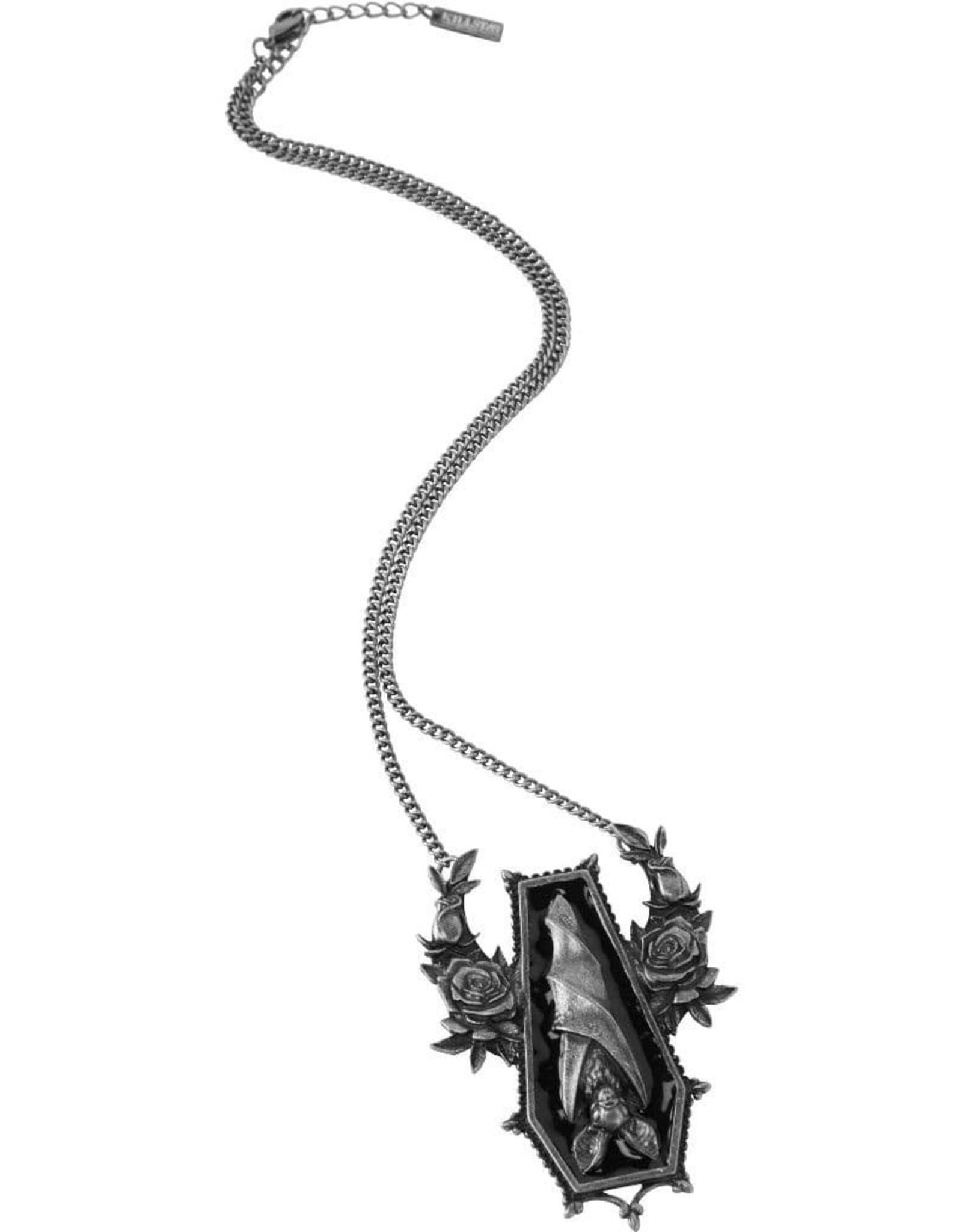 Killstar Gothic jewellery - Killstar necklace Sleepy Rose