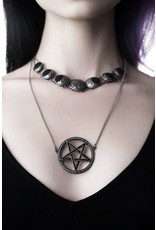 Killstar Gothic and Steampunk jewelry - Killstar Layer necklace Phases
