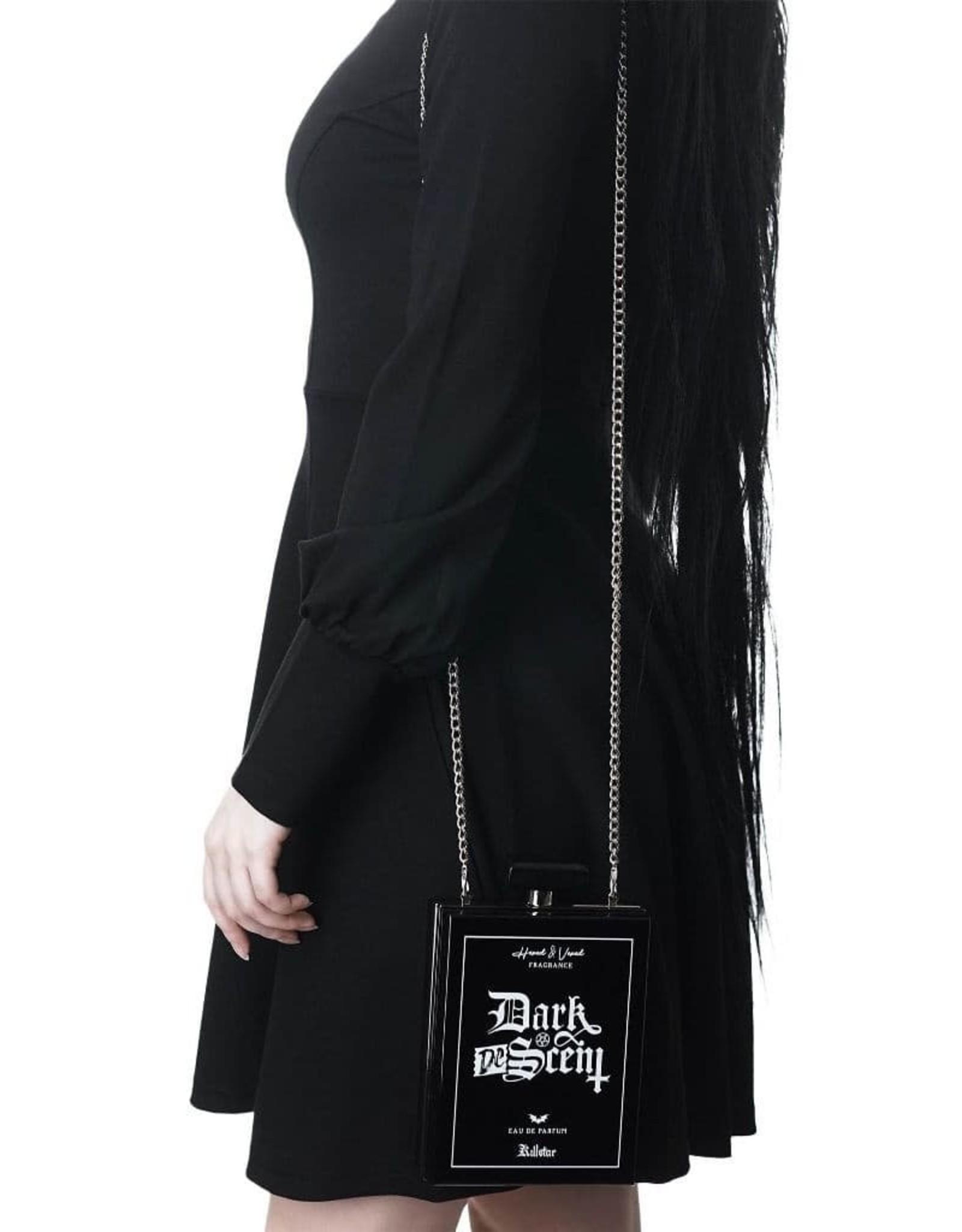 Killstar Gothic tassen Steampunk tassen -  Killstar clutch Descent Parfumflacon