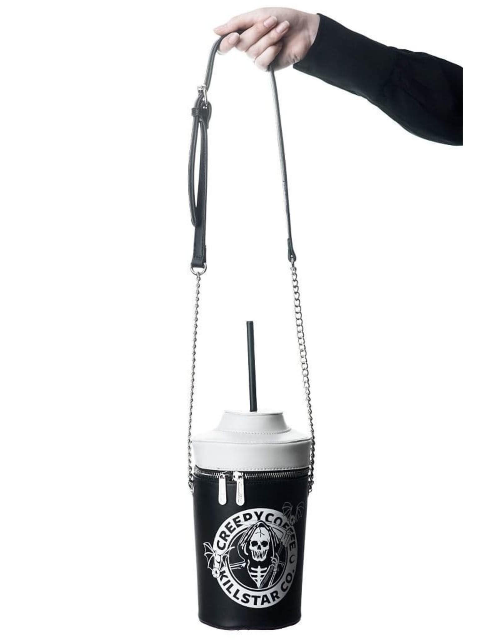 Killstar Gothic bags Steampunk bags - Killstar handbag Creepy Coffee