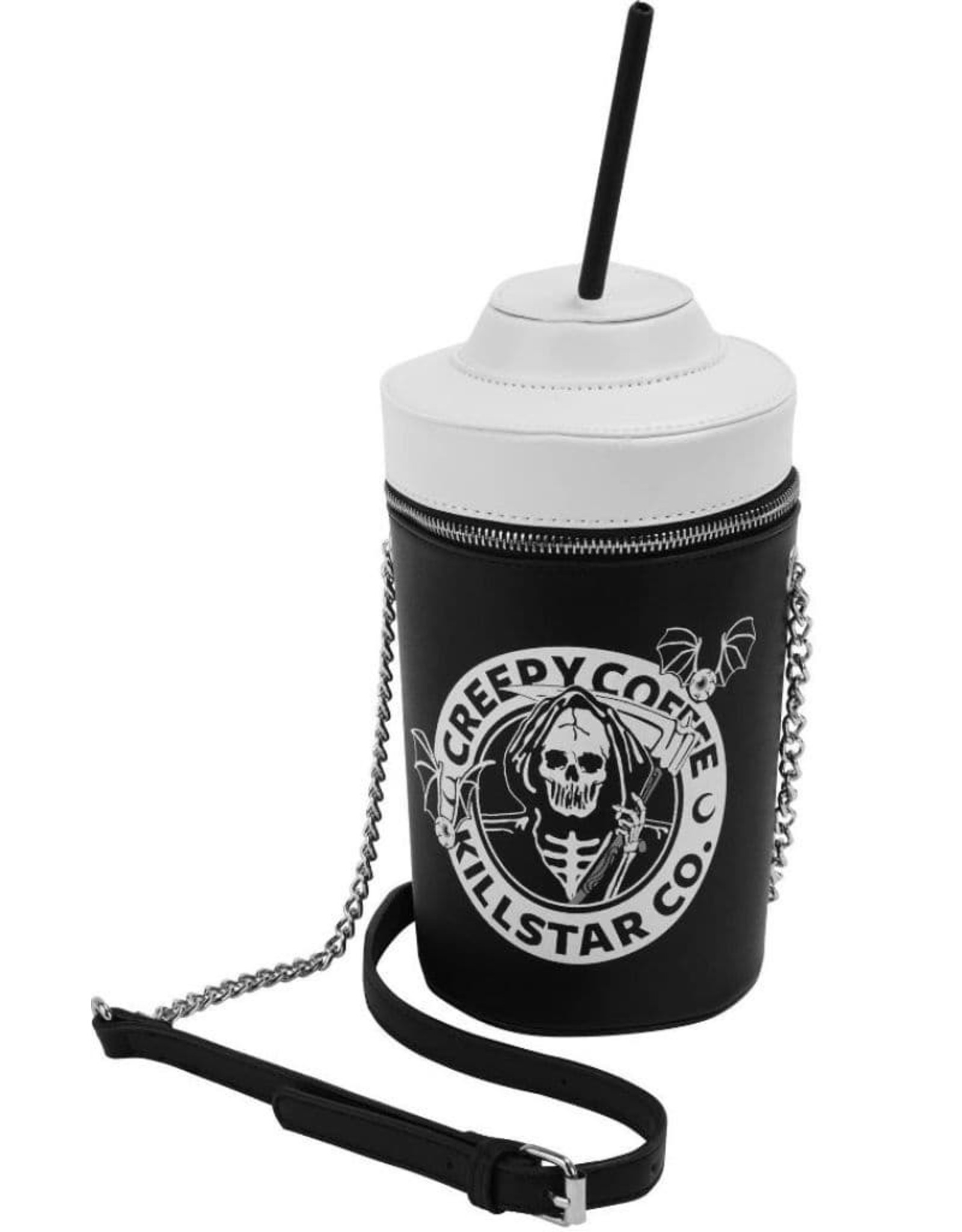 Killstar Gothic tassen Steampunk tassen -  Killstar handtas Creepy Coffee