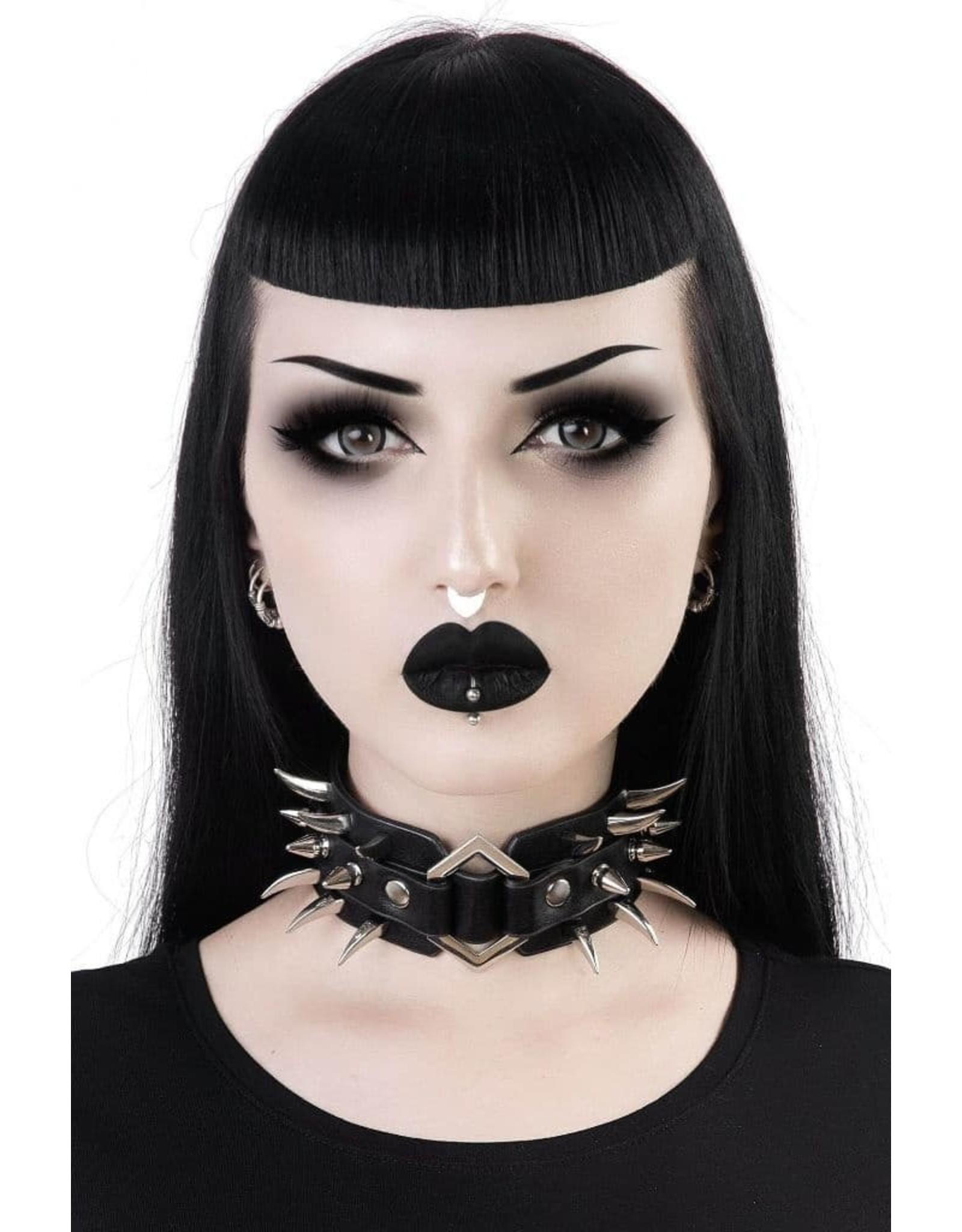 Killstar Gothic en Steampunk accessoires - Killstar Choker Anastasia