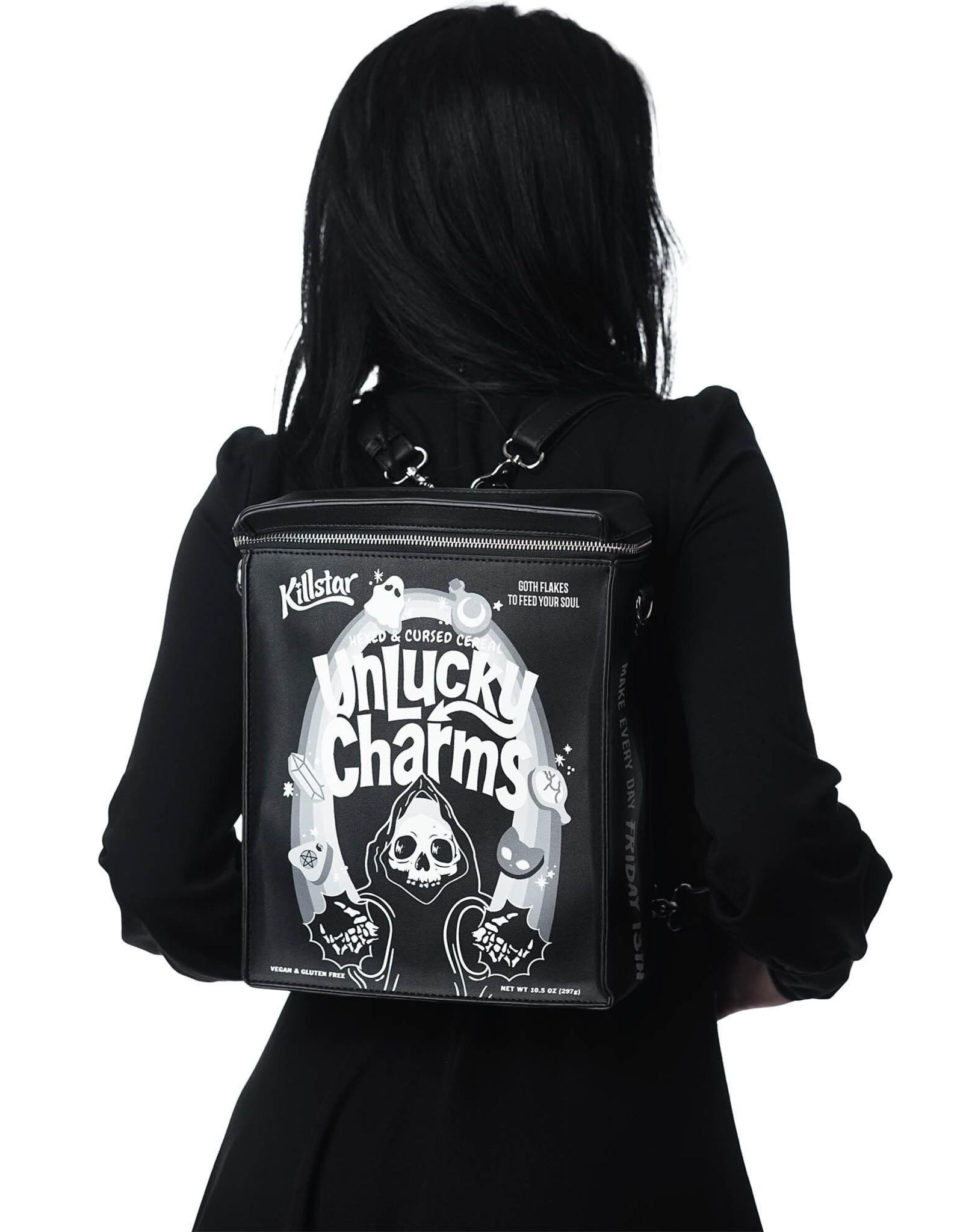 Killstar Gothic bags Steampunk bags - Killstar backpack Unlucky
