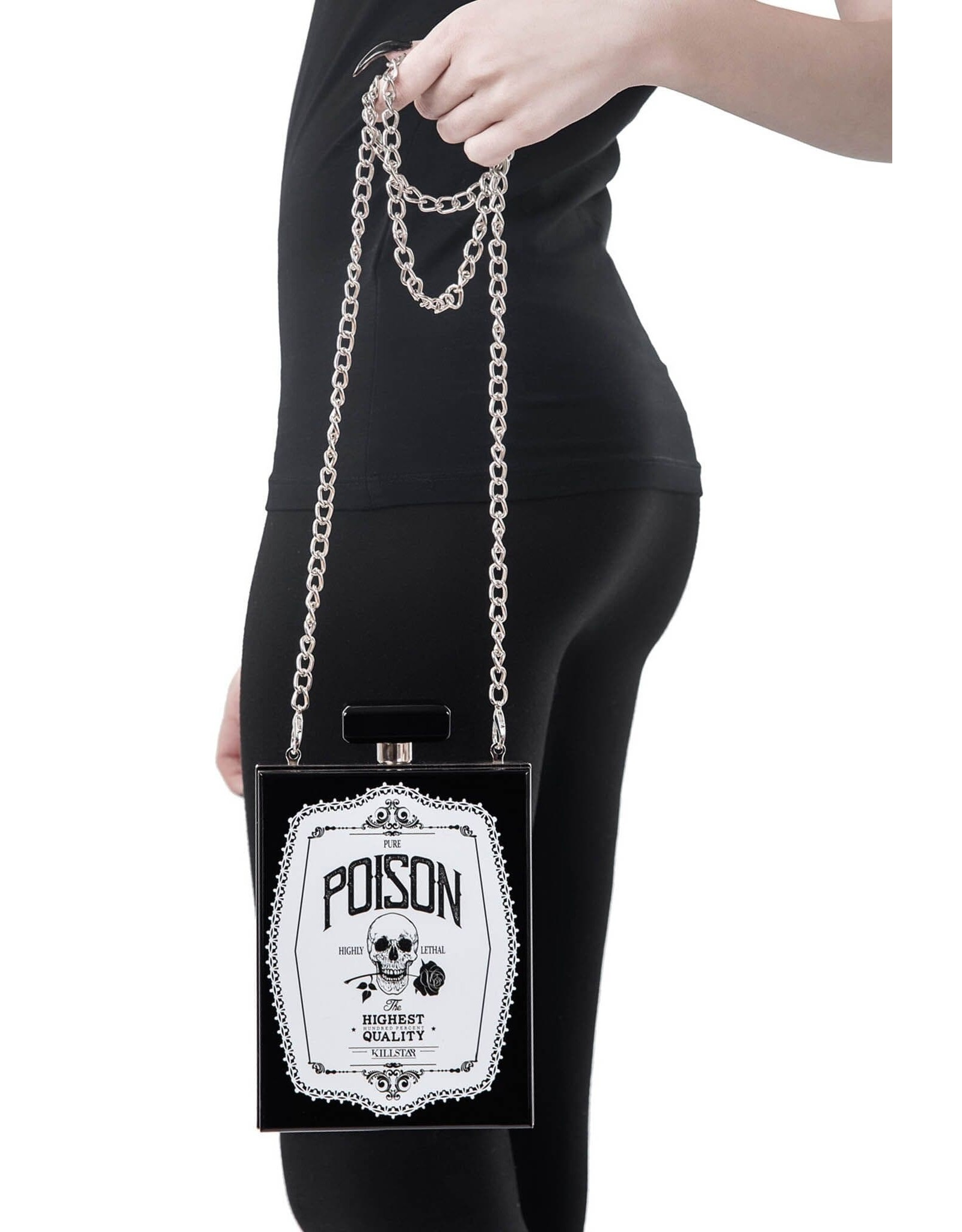 Killstar Gothic tassen Steampunk tassen - Killstar clutch Pure Poison