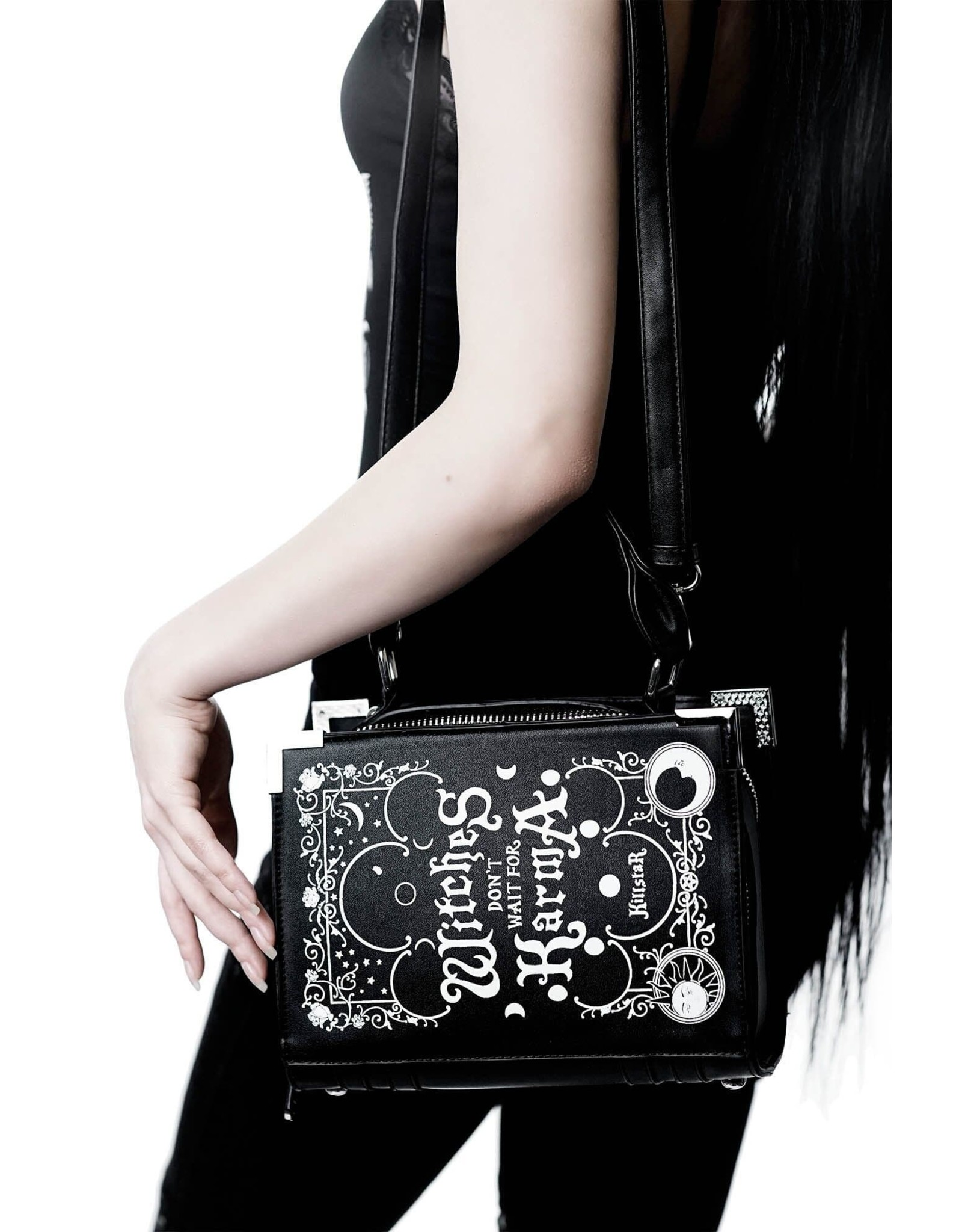 Killstar Gothic bags Steampunk bags - Killstar handbag Karma