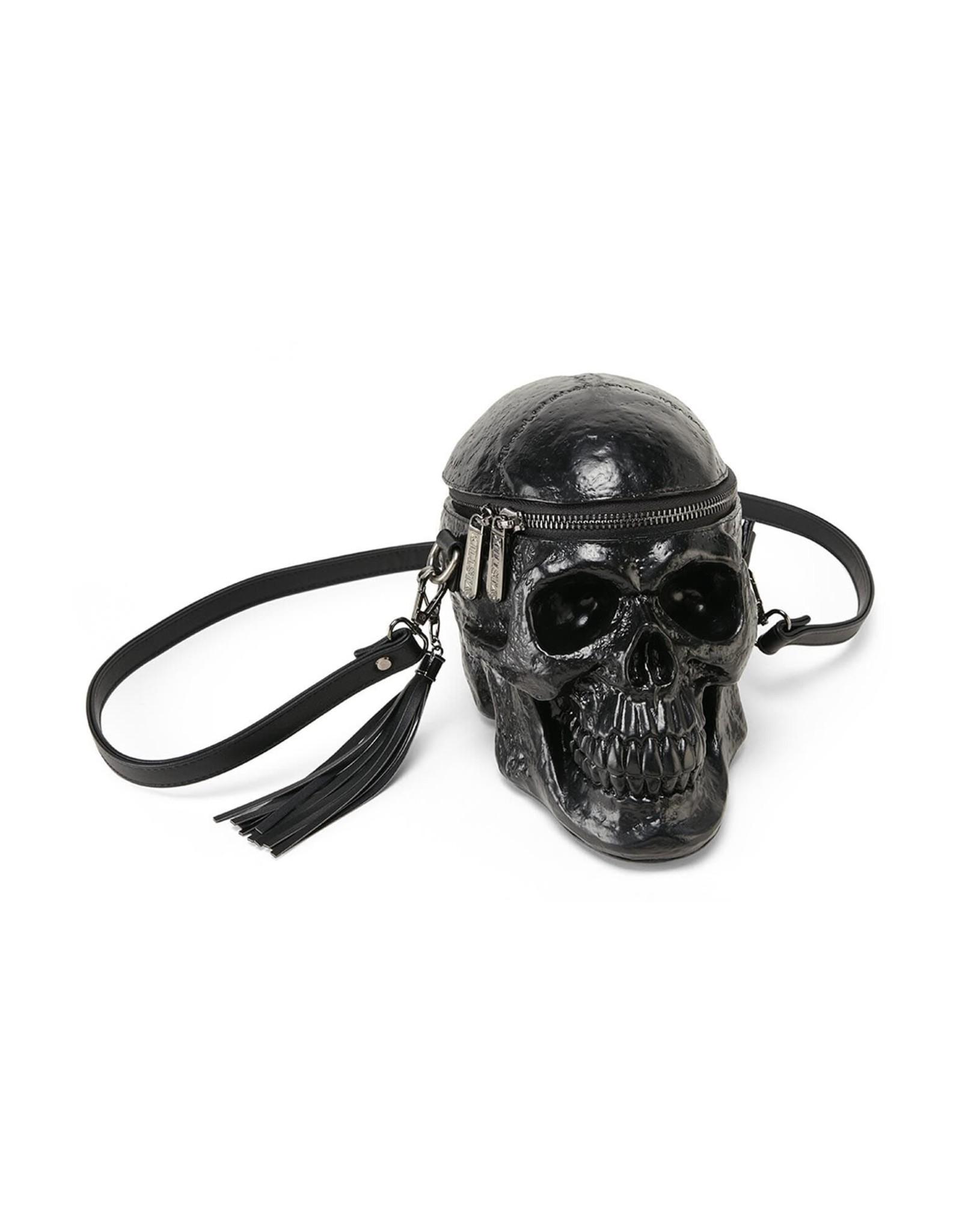Killstar Gothic bags Steampunk bags - Killstar skull bag Grave Digger