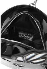 Killstar Gothic bags Steampunk bags - Killstar shoulder bag-backpack Druzy