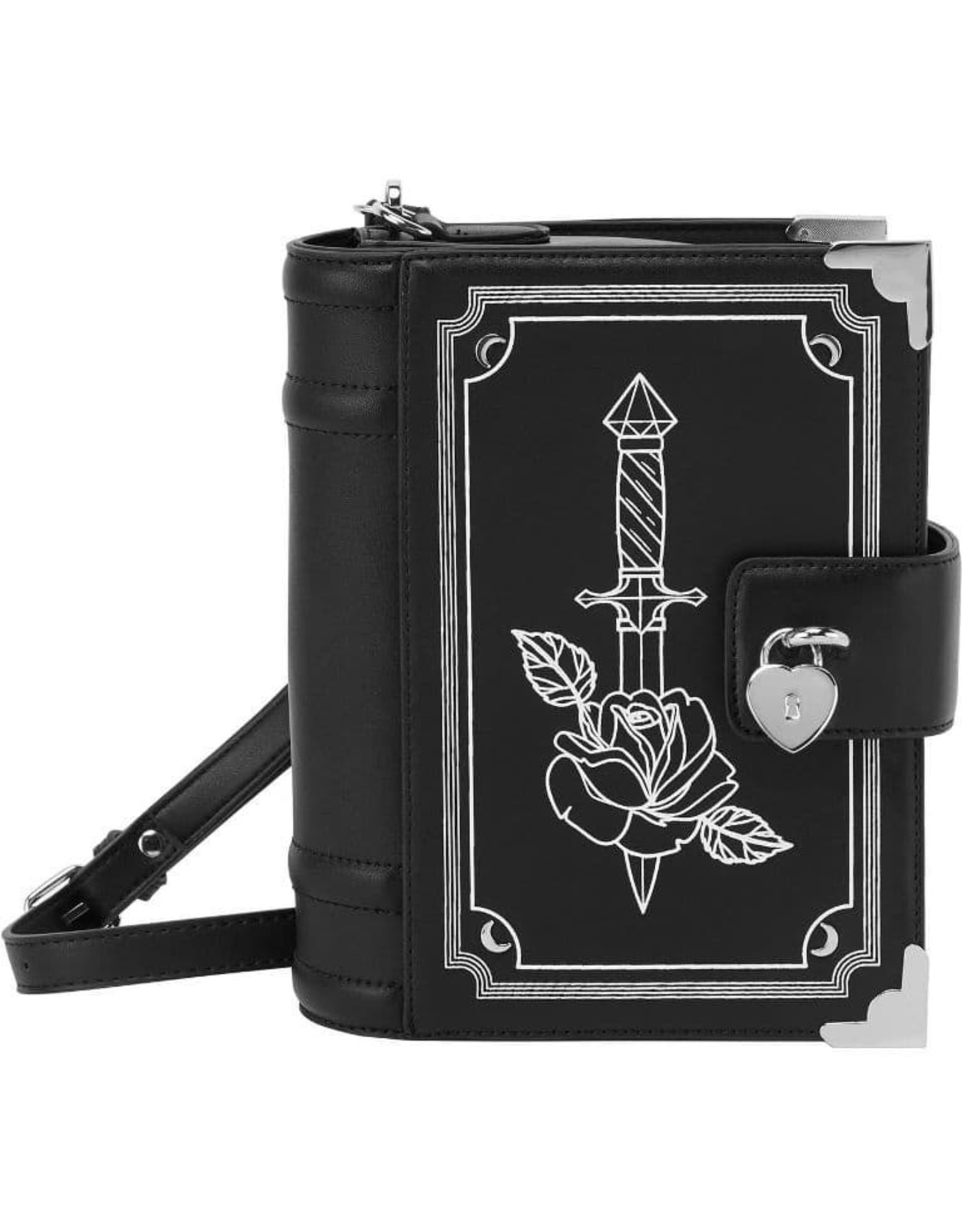 Killstar Gothic tassen Steampunk tassen - Killstar Rose Poem handtas
