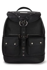 Killstar Gothic bags Steampunk bags - Killstar backpack Ritual Ring Pentagram