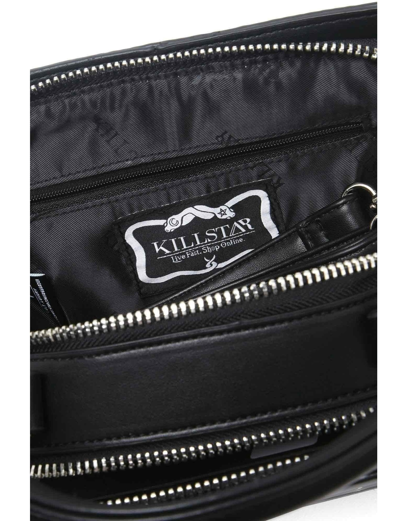 Killstar Gothic tassen Steampunk tassen - Killstar Need Space handtas boek