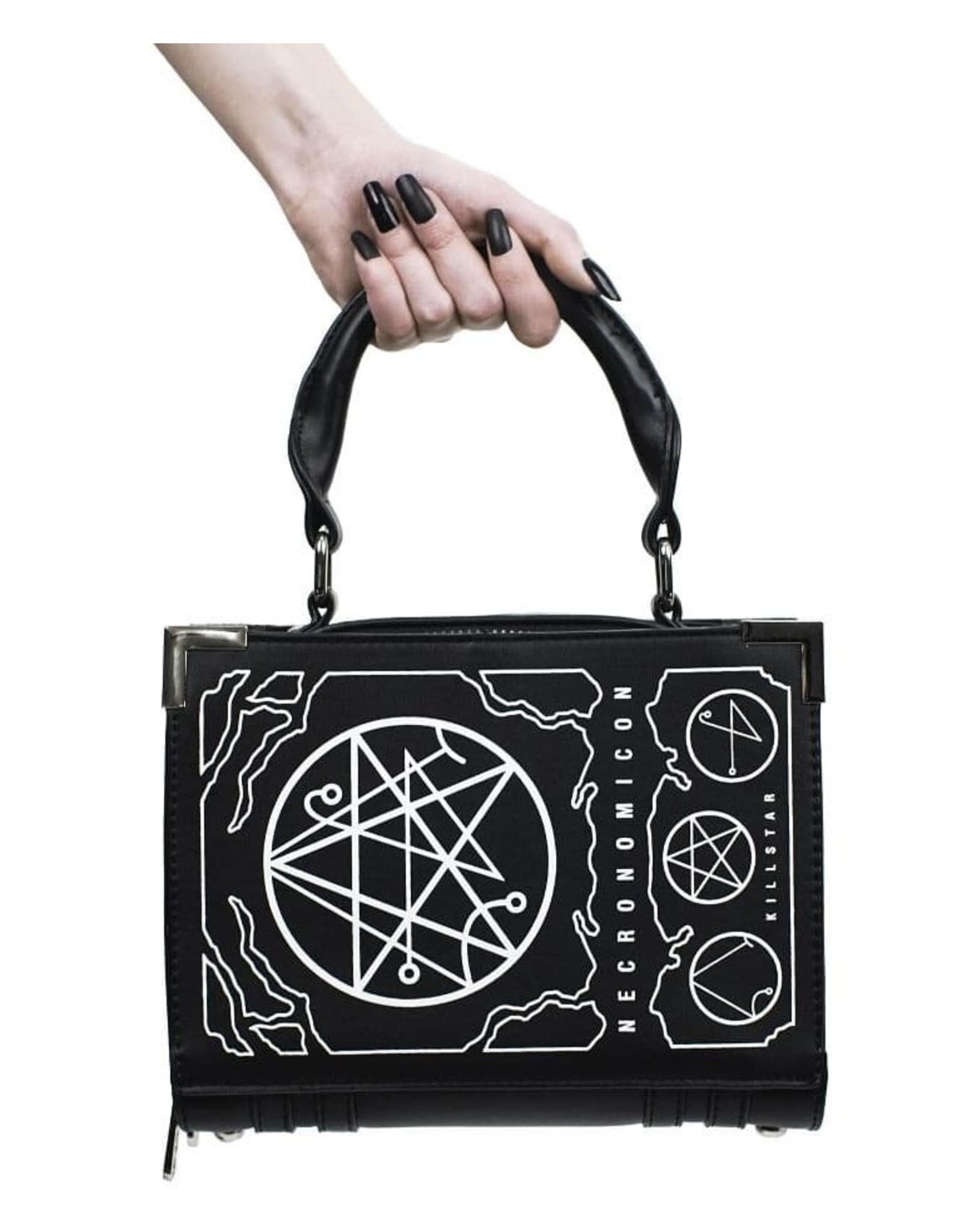 Killstar Gothic bags Steampunk bags - Killstar Necronomicon handbag