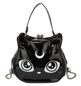Killstar Killstar Meowgical handbag Cat's head lacquer