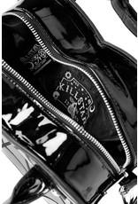 Killstar Gothic bags Steampunk bags - Killstar Lola Heart handbag bat logo