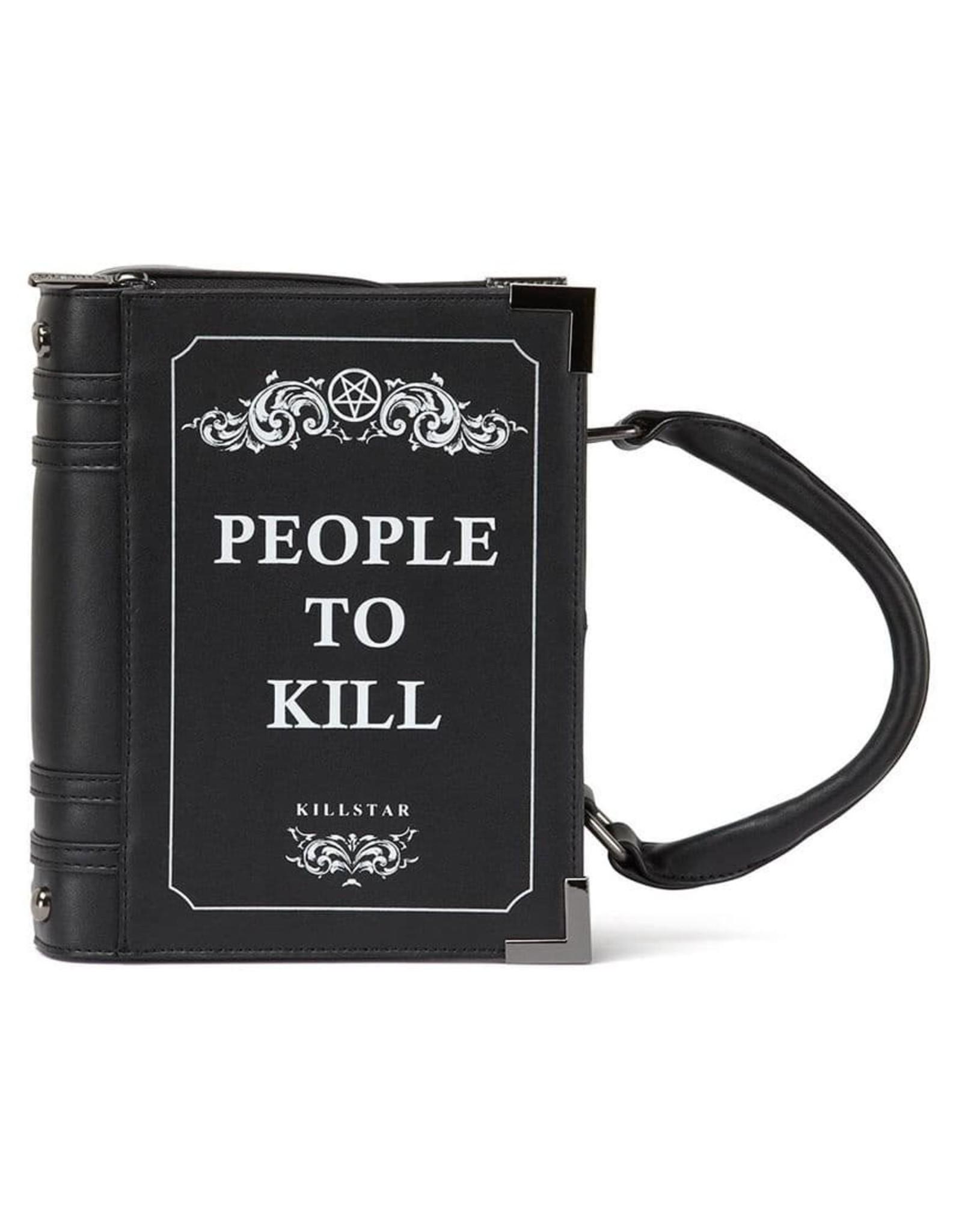 Killstar Gothic bags Steampunk bags - Killstar Kill List Book handbag