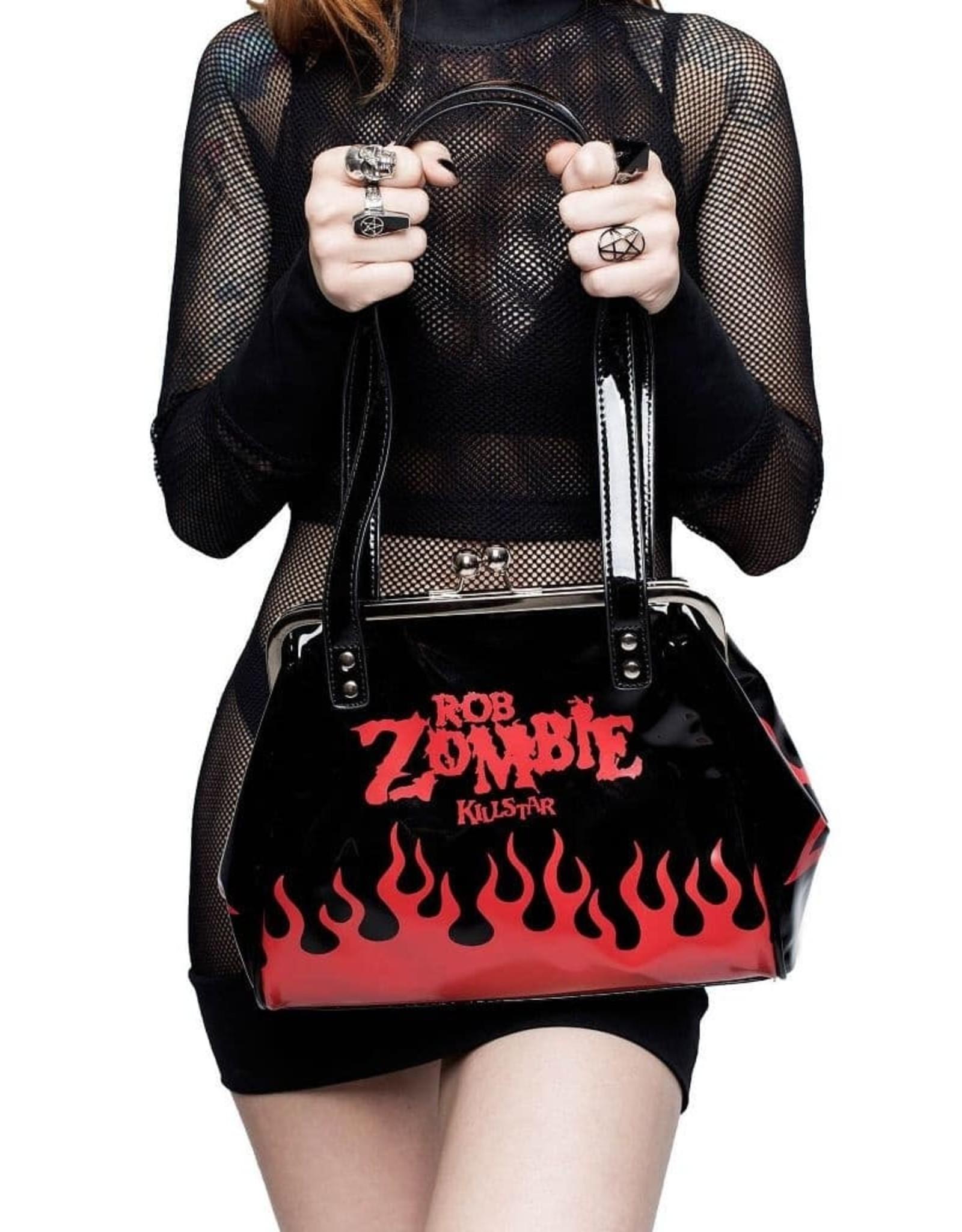 Killstar Gothic tassen Steampunk tassen - Killstar Hot Hell Rob Zombie handtas
