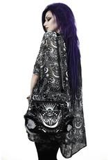 Killstar Gothic tassen Steampunk tassen - Killstar Foxglove handtas Nachtvlinder