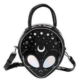 Killstar Killstar E.T. handbag (Alien with holographic yes)