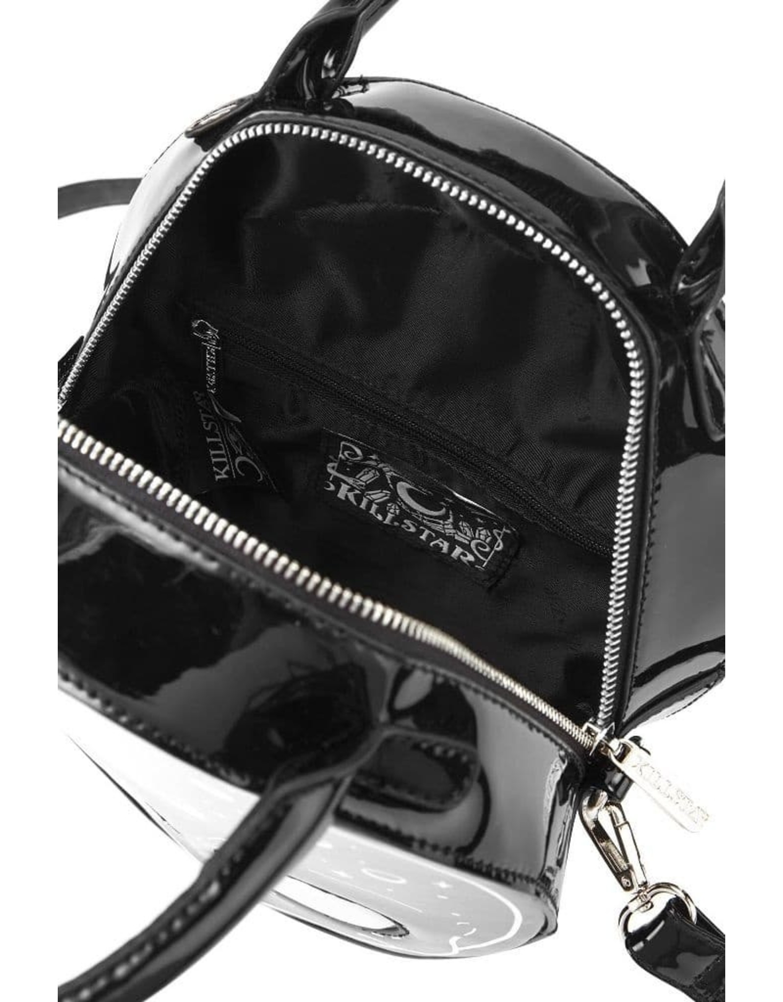 Killstar Gothic bags Steampunk bags - Killstar E.T. handbag (Alien with holographic yes)