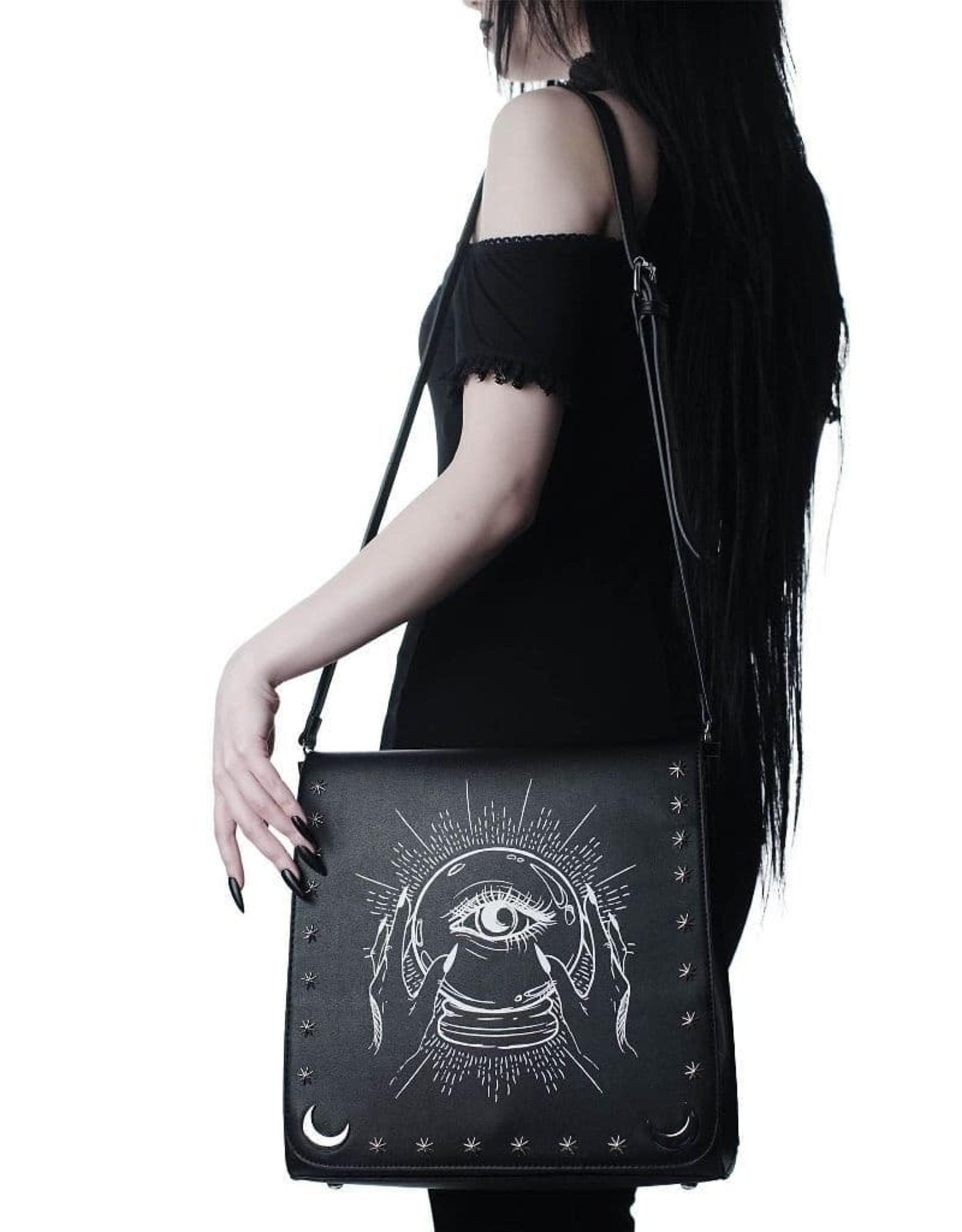 Killstar Gothic tassen Steampunk tassen - Killstar  Crystal Gazer handtas