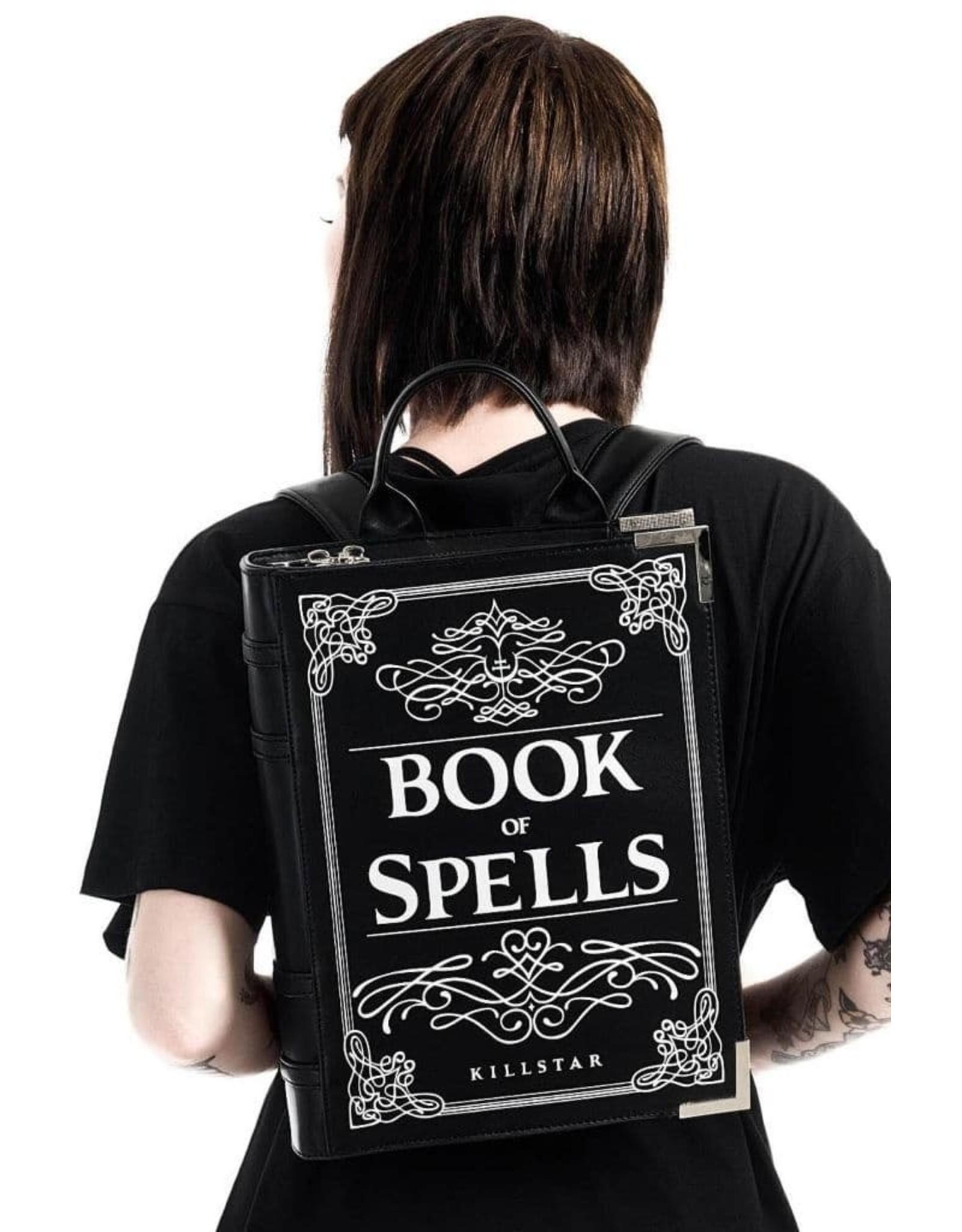 Killstar Gothic tassen Steampunk tassen - Killstar rugtas Book of Spells