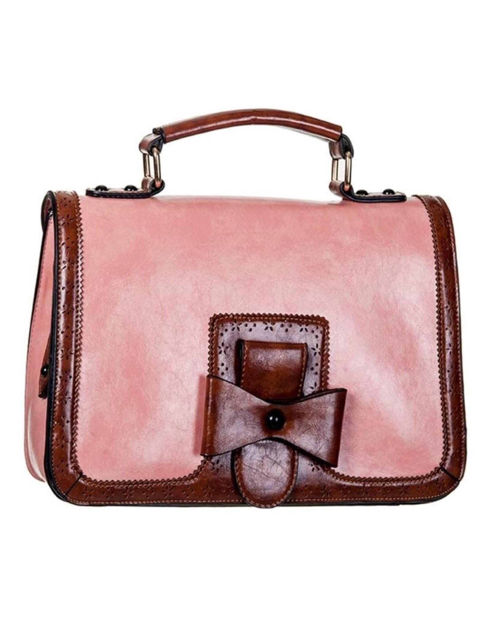 Banned Retro tassen Vintage tassen - Banned Vintage hantas Scandal (roze)