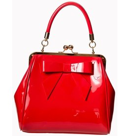 Vintage Banned 50s lacquer handbag American Vintage (red)