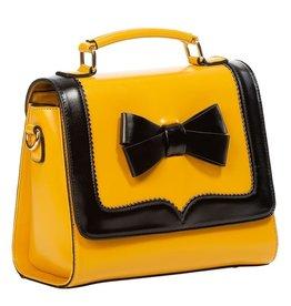 Vintage Banned Retro handbag O'Hara (mustard-black)