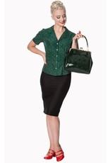 Vintage Retro bags  Vintage bags - Banned handbag American Vintage (dark green)