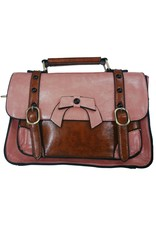 Vintage Retro bags  Vintage bags - Banned Retro hand bag with buckles and bow