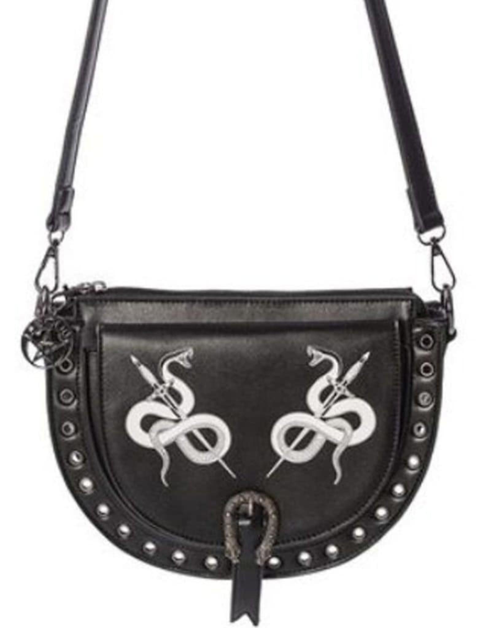 Gothic Gothic tassen Steampunk tassen - Banned Gothic Schoudertas