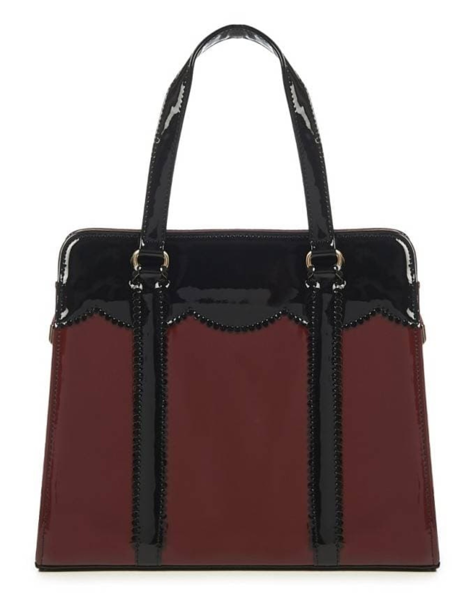 Vintage Retro bags and Vintage bags - Banned Juicy Bits Retro bag burgundy