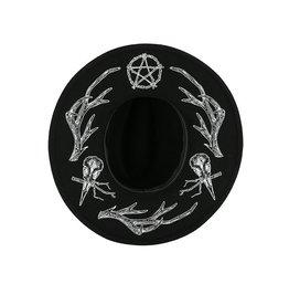 Restyle Pagan Hoed met gewei print - Restyle